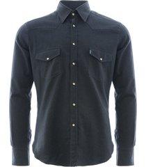 c17 - cedixsept jeans antonie western shirt | navy | c17wst-5