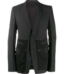 rick owens off-the-runway extreme blazer - black