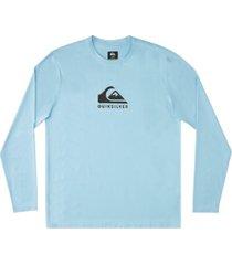 men's solid streak long sleeve upf 50 surf tee