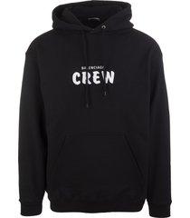 man black crew hoodie