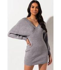 akira all day everyday mini sweater dress