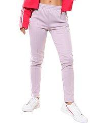pantalon  lila  adidas originals sst tp
