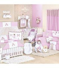 quarto completo padroeira baby bailarina rosa
