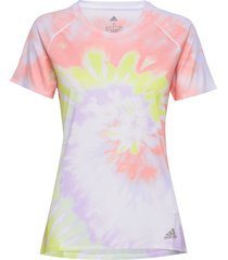 25/7 tee women t-shirts & tops short-sleeved rosa adidas performance