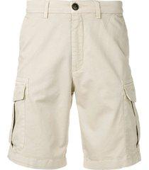 eleventy slim-fit cargo shorts - neutrals