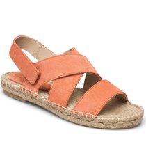 espadrilles sandaletter expadrilles låga orange ilse jacobsen