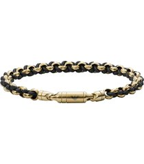 emporio armani stainless steel mens bracelet