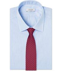 cravatta su misura, lanieri, twill seta microdesign, quattro stagioni | lanieri