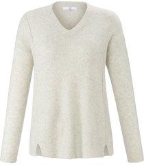 trui met lange mouwen van emilia lay wit