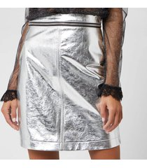 philosophy di lorenzo serafini women's skirt - nickel - it 40/uk 8