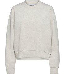 kelsey crew neck 9658 sweat-shirt trui grijs samsøe samsøe