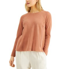 eileen fisher relaxed raglan-sleeve sweater, regular and plus sizes