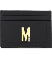 moschino monogram card holder