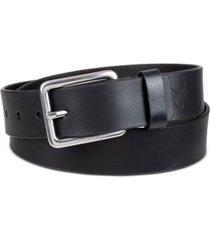 calvin klein men's genuine leather casual bridle belt