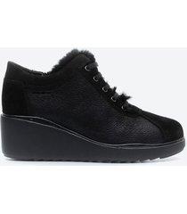 zapato casual mujer stonefly z1a0 negro