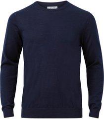 tröja jjemark merino knit crew neck