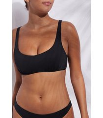 calzedonia tank-style swimsuit top indonesia woman black size 1