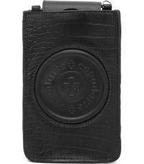 bolsa tiracolo capodarte logo preta - kanui