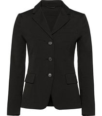 prada stretch cotton poplin jacket - black