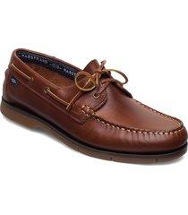 2-eye comfort båtskor skor brun marstrand