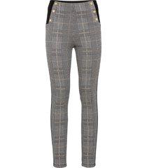 pantaloni elasticizzati con bande laterali (nero) - bodyflirt