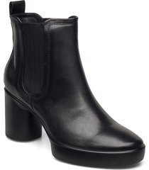shape sculpted motion 55 shoes boots ankle boots ankle boot - heel svart ecco