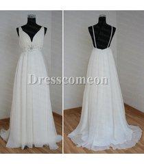 sexy backless beach wedding dress,bridal dress,bridesmaid dress,wedding gowns