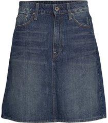 3301 skirt kort kjol blå g-star raw