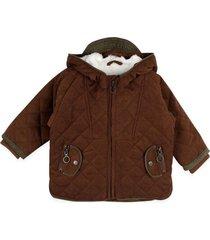 chaqueta bebé niño café  pillin