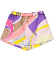 emilio pucci shorts with print