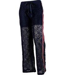 fracomina dames broeken lange-broek donkerblauw