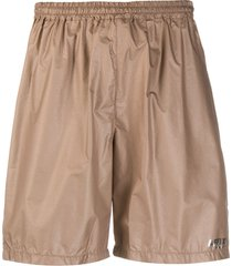 affix ripstop technical track shorts - neutrals