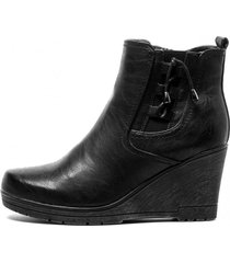 botin hima black chancleta