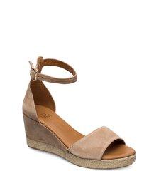 espadrilles 4332 sandalette med klack espadrilles beige billi bi