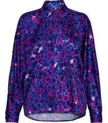 harpercras shirt overhemd met lange mouwen paars cras