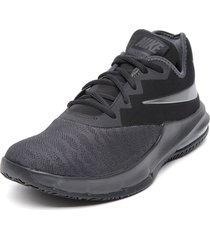 zapatilla air max infuriate iii low negro nike