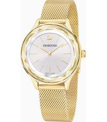 orologio octea nova, bracciale milanese, pvd oro
