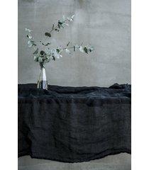lniany obrus 150x220 - black