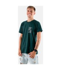 camisa t-shirt rioutlet verde 237