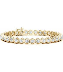 natori indochine diamond tennis bracelet, women's fine jewelry