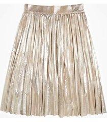aksamitna spódnica z laminatem