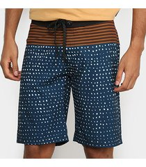 bermuda wall board short estampada masculina