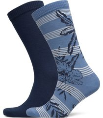 levis regular cut stripe hello hawa underwear socks regular socks blå levi´s