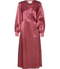costa dress long maxi dress galajurk roze maud