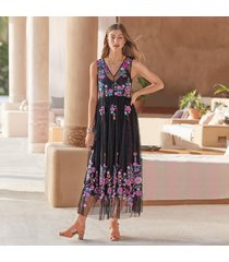anastasia embroidery dress petite