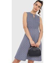 vestido azul tommy hilfiger