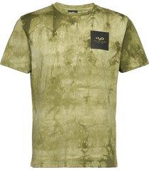 ribe tie dye tee t-shirts short-sleeved grön h2o