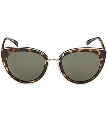 52mm cat-eye sunglasses
