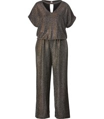 jumpsuit med korta ärmar mable for happy size rost