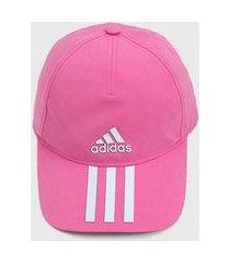boné adidas performance listras rosa